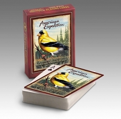 American Goldfinch Wildlife Playing Cards 2 Decks