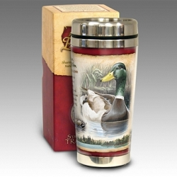 Mallard 16 oz. Steel Travel Mug