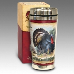 Wild Turkey 16 oz. Steel Travel Mug