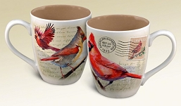 Northern Cardinal Vintage Series Coffee Mug Set of 2