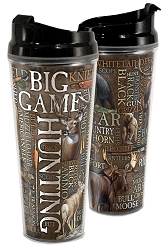Big Game Acrylic Tall Tumbler 24 oz. Set of 2