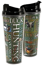 Duck Hunt Acrylic Tall Tumbler 24 oz. Set of 2