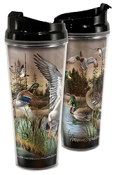 Mallard Acrylic Tall Tumbler 24 oz. Set of 2