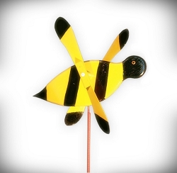 Whirly Bird Bumble Bee Spinner
