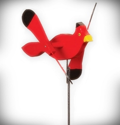 Whirly Bird Cardinal Spinner