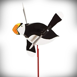 Whirly Bird Puffin Spinner