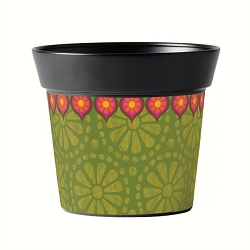 Studio M 6 Inch Art Pot Gypsy Garden