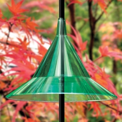 Squirrel Away Pole Baffle Emerald Green