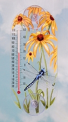 Dragonfly Original Window Thermometer