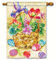 Easter Beauty House Flag