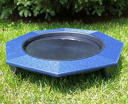 Recycled Poly Ground Bird Bath