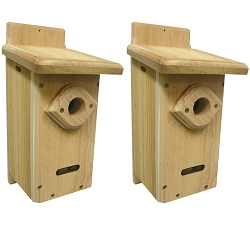 Birds Choice Bluebird House Package w/Complete Pole Kit