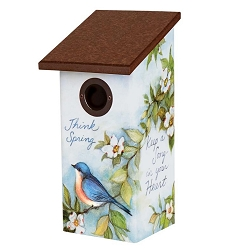 Spread a Little Happiness Bluebird House