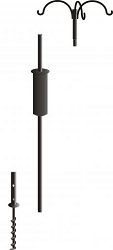 Birds Choice Complete Pole Package 3 Arm