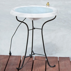 Birds Choice Heated Pedestal Bird Bath