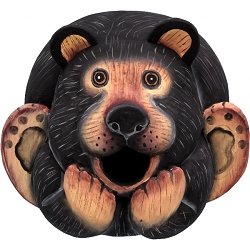 Bear Ball Birdhouse