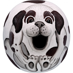 Dog Mutt Ball Birdhouse