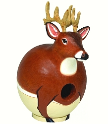 Whitetail Deer Gord-O Birdhouse