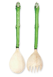 Asparagus Salad Server Set