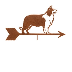 Border Collie Weathervane Top