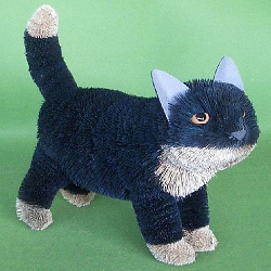 Brushart Black Cat Standing 16