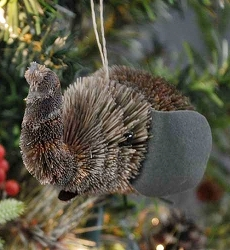 Brushart Elephant Bauble Ornament