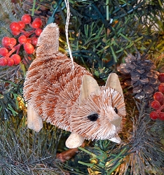 Brushart Marmalade Kitten Ornament
