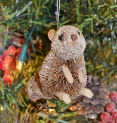 Brushart Chipmunk Ornament