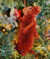 Brushart Dog Ornament Dachshund