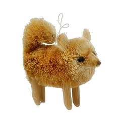 Brushart Dog Ornament Pomeranian