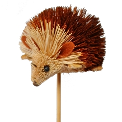 Brushart Hedgehog on a Stick