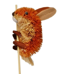 Brushart Rabbit on a Stick
