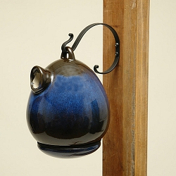 Alcyon Egg Bird Home Cobalt Blue