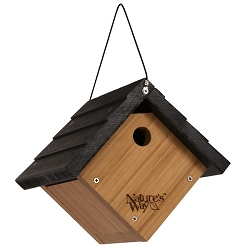 Bamboo Traditional Wren Bird House