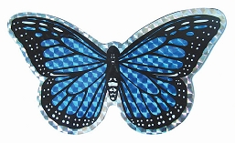 Blue Butterfly Screen Saver Magnet