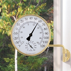 Vermont Weather Station Brass