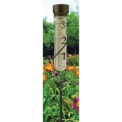 Decor Grande View Rain Gauge Bronze Patina
