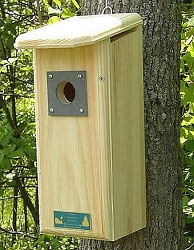 Conservation Downy Woodpecker House