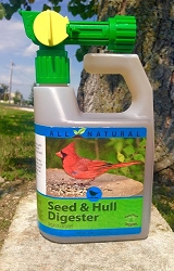 CareFree Seed and Hull Digester 32 oz. w/Spray Nozzle