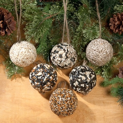Christmas Tree Seed Ball Ornaments 6/Pack
