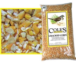Cole's Cracked Corn Bird Seed 5#