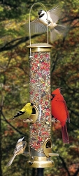 Terrific Tube 4 Port Bird Feeder