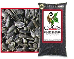 Cole's Black Oil Sunflower Bird Seed 16#