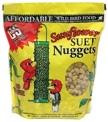 Sunflower Suet Nuggets 27 oz. 3/Pack