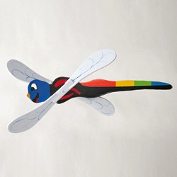 Classic Flying Dragonfly Whirligig