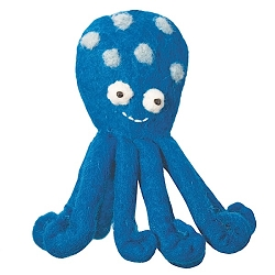 Wild Woolies Octopus Finger Puppet Ornament