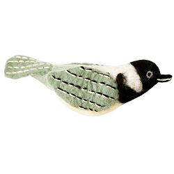 Chickadee Woolie Ornament