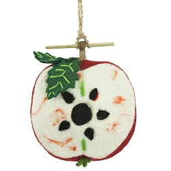 Wild Woolies Apple Felt Birdhouse