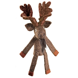 Wild Woolies Moose Finger Puppet Ornament