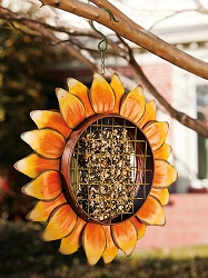 Autumn Friends Sunflower Suet Feeder